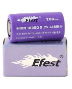 EFEST PURPLE 18350 700MAH FLAT TOP