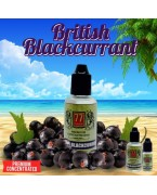 BRITISH BLACKCURRANT CONCENTRE 30 ML 77 FLAVOR