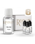 PACK BASE 50/50 6 MG 100 ML REVOLUTE