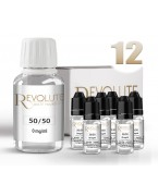 PACK BASE 50/50 12 MG 100 ML REVOLUTE
