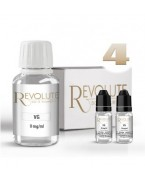 PACK BASE 100% VG 4 MG 100 ML REVOLUTE
