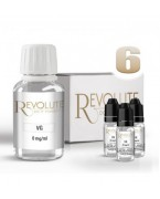 PACK BASE 100% 6 MG 100 ML REVOLUTE