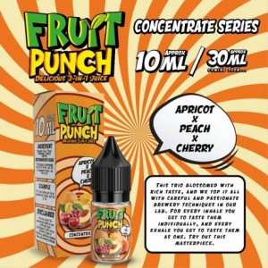 CONCENTRE APRICOT PEACH CHERRY 10 ML FRUIT PUNCH