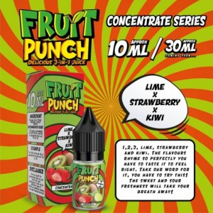 CONCENTRE LIME KIWI STRAWBERRY 10 ML FRUIT PUNCH