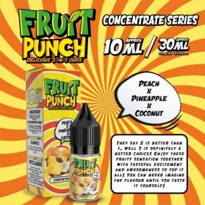 CONCENTRE PINEAPPLE COCONUT PEACH 10 ML FRUIT PUNCH