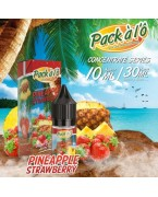 CONCENTRE PINEAPPLE STRAWBERRY 10 ML PACK A L'Ô